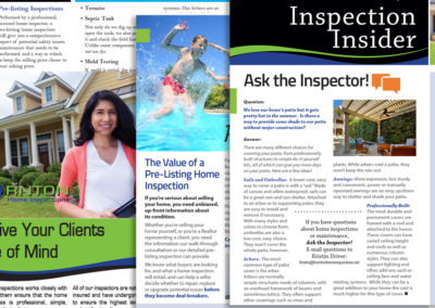 Home Inspection Marketing Materials
